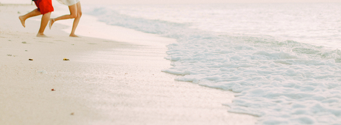 sun, sand & sea boracay engagement prenup shoot